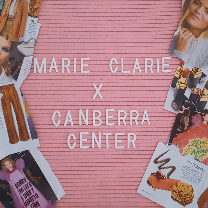 Marie Claire in Canberra