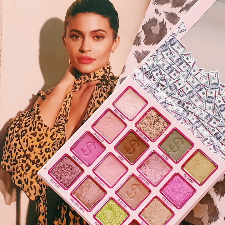 Does Kylie Take the Cake?  You're $o Money Baby Palette Review