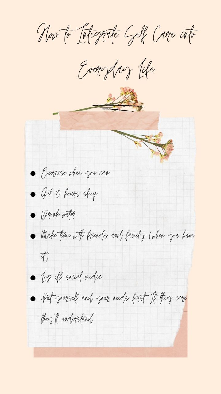 Peach and White Delicate New Year's Resolution List Instagram Story